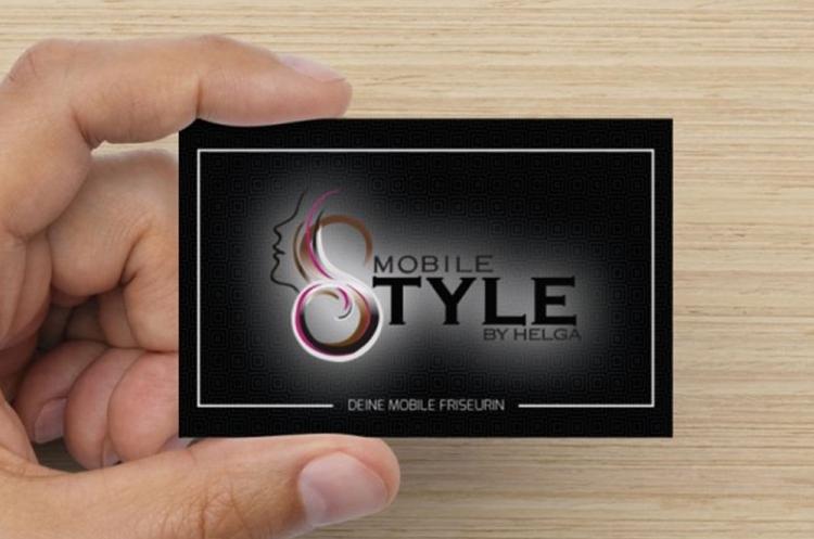 Visitenkarten Mobile Style