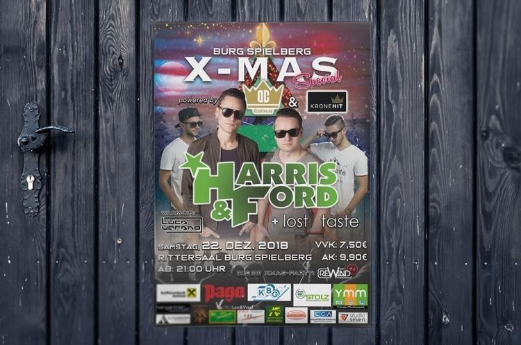 Plakate Harris & Ford
