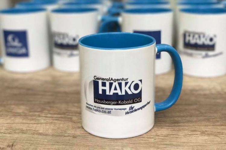 Tassen Uniqua - HAKO Generalagentur